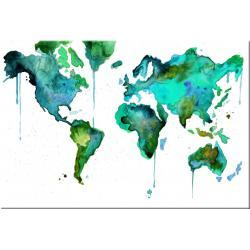 """obrazy nowoczesne """"mapa świata"""" Akryl"""