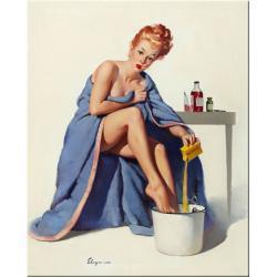 obraz na ścianę eleganckiej łazienki lub salonu spa Akryl