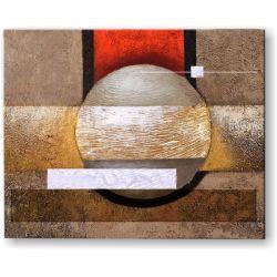ręcznie malowany, grubo fakturowany obraz nowoczesny 80x100cm Obrazki i obrazy