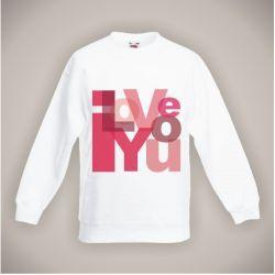 Bluza dla Twojej miłości Akryl