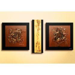 """obrazy nowoczesne """"golden texture""""  NOWOŚĆ! MODNE, DESIGNERSKIE WZORY! na płótnie"""