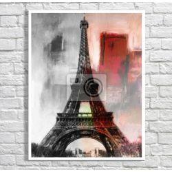 Obraz klasyczny z wieżą Eiffla