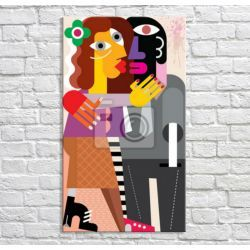 Obraz dla zakochanych Obrazki i obrazy
