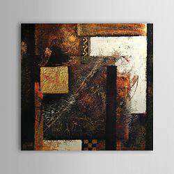 Obraz abstrakcyjny ręcznie malowany z grubą fakturą
