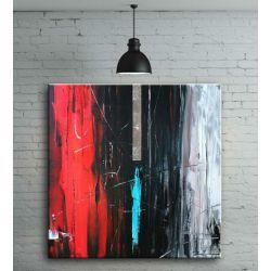 obrazy nowoczesne abstrakcyjne Akryl