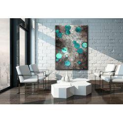 Obraz ręcznie malowany 70x100cm boki 4cm Akryl