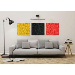 Modne obrazy abstrakcyjne tryptyk 3szt 50x50cm Obrazki i obrazy