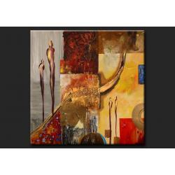 """obrazy nowoczesne """"abstrakcyjne postacie""""   Akryl"""