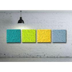Zestaw obrazów na ścianę