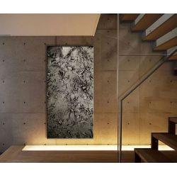 """Obrazy ręcznie malowane do dużych przestrzeni - """"stare srebro"""" Antyki i Sztuka"""