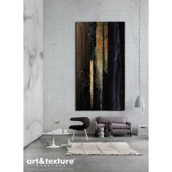 Obrazy do salonu - elegancka czerń