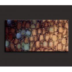 Duży obraz 80x200cm  - zamówienie indywidualne Malarstwo