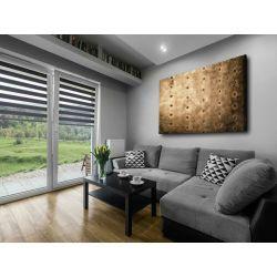 Nowoczesny obraz do salonu - loftowy akcent Akryl