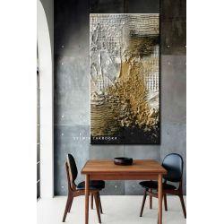 Burza piaskowa - abstrakcyjne obrazy do modnego salonu Antyki i Sztuka