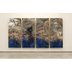 INDUSTRIAL - Wielkoformatowy obraz na płótnie abstrakcyjny art&texture® Antyki i Sztuka
