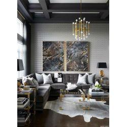 Strukturalne żłobienia - Wielkoformatowy obraz na płótnie abstrakcyjny art&texture® Akryl
