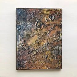 GOLDEN - Wielkoformatowy obraz na płótnie abstrakcyjny art&texture™