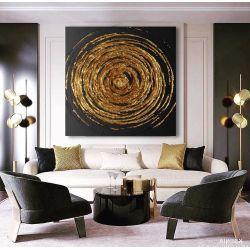 DEEP - Wielkoformatowy obraz na płótnie abstrakcyjny art&texture™