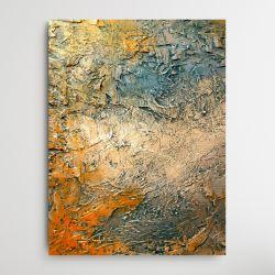 SOLEILO - Wielkoformatowy obraz na płótnie abstrakcyjny art&texture™ Antyki i Sztuka