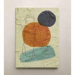 RARO - Wielkoformatowy obraz na płótnie abstrakcyjny art&texture™ Antyki i Sztuka