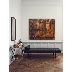 INDUSTRIAL COPPER - obraz w industrialnym stylu do stylowych wnętrz Antyki i Sztuka