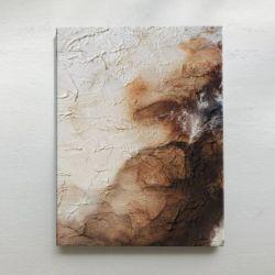 MOODY BROWN - nastrojowy obraz abstrakcyjny w odcieniach beżu i brązu Antyki i Sztuka