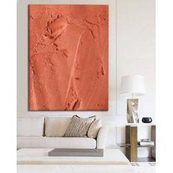 SALMON - Ekstrawagancki nietypowy obraz na ścianę do nowoczesnego modnego pomieszczenia
