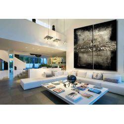 Ogromny obraz 4-częściowy - dekoracja na duże powierzchnie 2mx2m Malarstwo