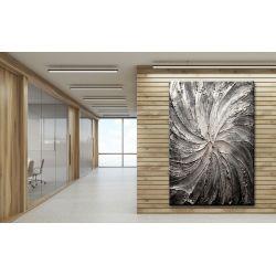 Obrazy abstrakcyjne - srebrny wir Pozostałe