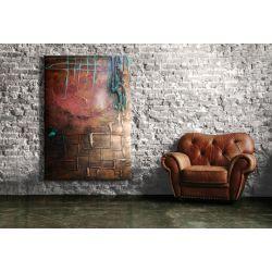 """rzeźbiony sen"" płaskorzeźbiony duży obraz na ścianę Akryl"