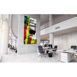 """Obrazy abstrakcyjne na ścianę """"kontrastowa abstrakcja"""" Pozostałe"""