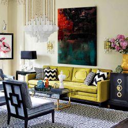 Awangardowe barwy - Modny obraz na ścianę | obrazy do salonu Obrazki i obrazy