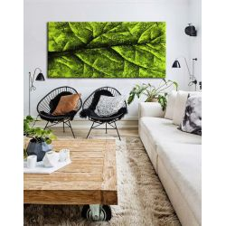 liść czy drzewo - abstrakcyjny obraz na ścianę 80x170cm | obrazy do salonu Akryl