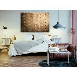 Obraz zamówienie indywidualne 70x100cm - z rzeźbą - loftowy akcent Akryl