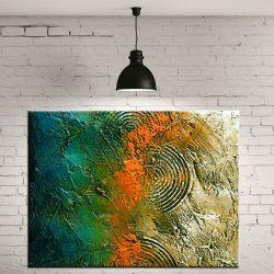 Obrazy nowoczesne - jesienne tloczenie Akryl