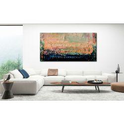 Obrazy nowoczesne - pastelowe wariacje Akryl