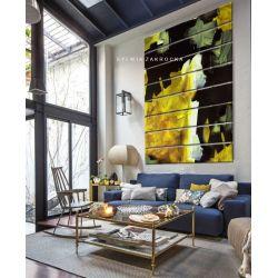 Kontrastowa abstrakcja - ogromny obraz wielkoformatowy 200x150cm na dużą przestrzeń Antyki i Sztuka