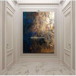 Industrialna abstrakcja - abstrakcyjne obrazy do modnego salonu Pozostałe