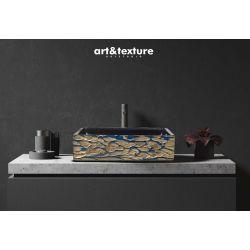 BIJOUX - nablatowa umywalka artystyczna ręcznie wykończona Obrazki i obrazy