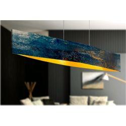 ARTISTICCA - Artystyczna ekskluzywna LAMPA SUFITOWA duża do loftu Akryl