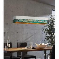 ANTRACTA - Artystyczna ekskluzywna LAMPA SUFITOWA duża do loftu Pozostałe
