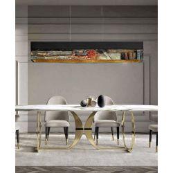 GALLERA - Artystyczna ekskluzywna LAMPA SUFITOWA duża do loftu Pozostałe