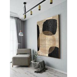 MISTIC STONES - Wielkoformatowy obraz na płótnie abstrakcyjny art&texture™ Pozostałe