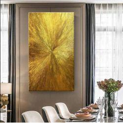 ARTISTIC GOLD - Wielkoformatowy obraz na płótnie abstrakcyjny art&texture™ Pozostałe