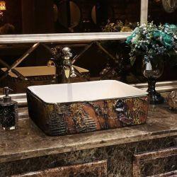 MARRONA - nablatowa umywalka artystyczna ręcznie wykończona Pozostałe