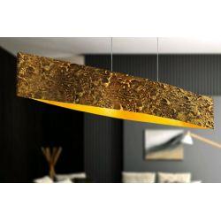 SOLEIL - Artystyczna ekskluzywna LAMPA SUFITOWA duża do loftu Dom i Ogród