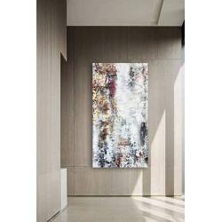 STONE INSPIRATION - Wielkoformatowy obraz na płótnie abstrakcyjny art&texture™ Akryl