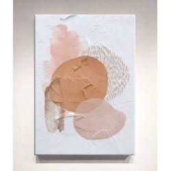 DELIGHTFUL-STAINS - Wielkoformatowy obraz na płótnie abstrakcyjny art&texture™ Antyki i Sztuka