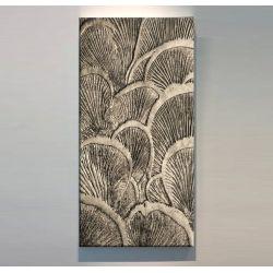 ORGANICO - Wielkoformatowy obraz na płótnie abstrakcyjny art&texture™ Antyki i Sztuka