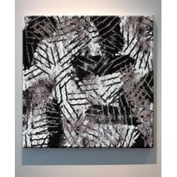 BOHEMIAN - obraz w stylu boho do ciepłych rustykalnych wnętrz z etnicznym motywem afrykańskim Antyki i Sztuka